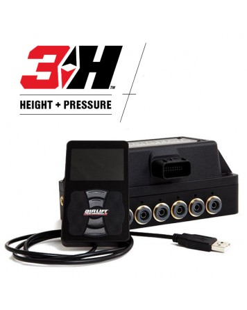 "Air Lift 3H 1/4"" Height & Pressure Controller Complete Management"