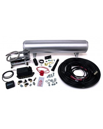 "Air Lift AutoPilot V2 1/4"" Air Line 4 Gallon Tank 380C Compressor"