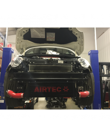 Fiat 500 Abarth Airtec 60mm core Intercooler upgrade (Automatic Gearbox)