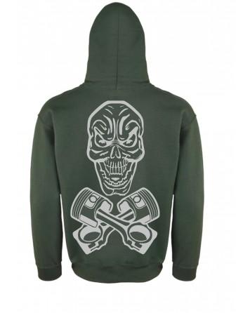 V-I-P 'Skull' Hooded Top