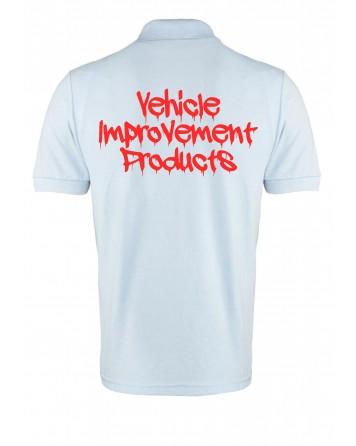 V-I-P 'Dripping' Logo Polo Shirt