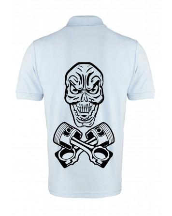 V-I-P 'Skull' Polo Shirt