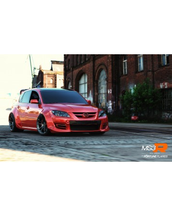 Mazda 3 MPS Gen 1 (07-09) Fortune Flares Widebody Kit - PRE-ORDER DEPOSIT (50%)