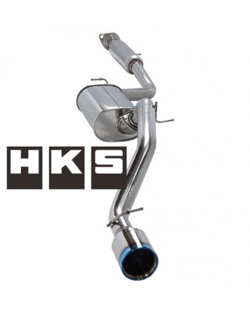 Mazda 3 MPS 04-09 (BK) HKS Legamax Premium Cat back Exhaust system