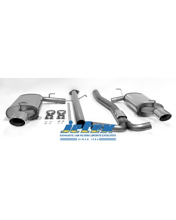 Mazda 6 MPS 05+ Jetex Cat Back Exhaust System (Half System)