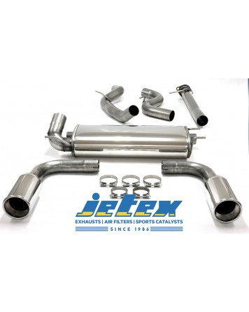 Mazda 3 MPS 09-13 Jetex Cat Back Exhaust System (Half System)