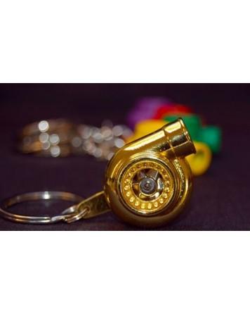 V-I-P Turbo Keyrings (Gold)