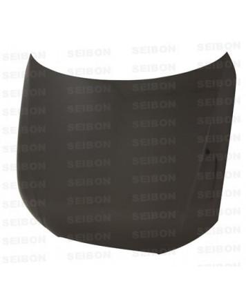Audi A4 2009-2012 Seibon Carbon OEM-style carbon fibre bonnet