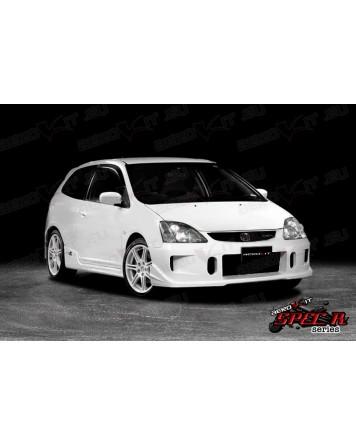 Honda Civic EP3 01-05 Aerokit Spec R-1 Front Bumper