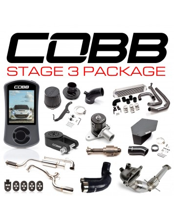 Mazda 3 MPS 10-13 (Mazdaspeed) COBB Tuning Stage 3 Power Package