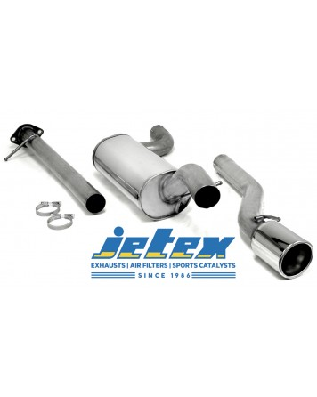 Mazda 3 MPS 06-09 Jetex Cat Back Exhaust System (Half System)