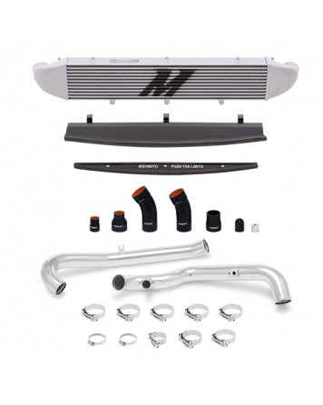 Ford Fiesta ST 2014+ Mishimoto Performance Intercooler Kit, Polished Pipes, Silver Cooler