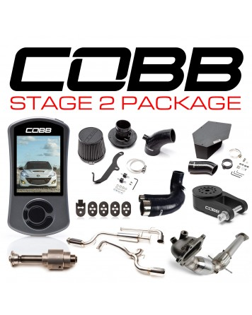 Mazda 3 MPS 10-13 (Mazdaspeed) COBB Tuning Stage 2 Power Package