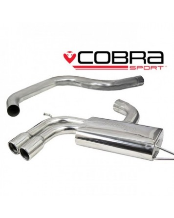 Audi A3 (8P) 2.0 TFSI 3dr 04-12 Cobra Cat Back System (Non-Resonated)